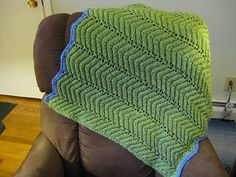 Ravelry: Easy Ripple Baby Blanket pattern by KnitList