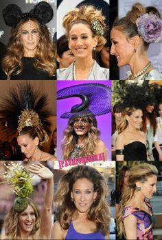 Los 1001 cambios de look de Sarah Jessica Parker