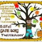 $2.50 Lesson Plan, Teaching Slides, Game and Song with Ostinato and Melody...This is a great song for November. You will be able to teach: DO RE MI SO LA  (sight singing and note reading) RHYTHMIC OSTINATO TI-TI TA TAA   It ...