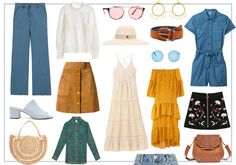 Seventies Fashion, 70s Fashion, Fashion Kids, Summer Of Love, Summer Looks, Style Année 70, Modern Vintage Fashion, Vintage Style, Retro Outfits
