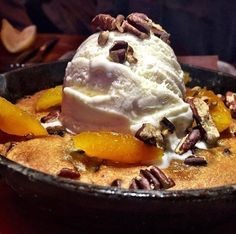 Giant Warm Chocolate Cookie in a Skillet @ Treadwell Park