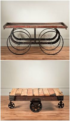 Uniche Industrial Furniture  Can we use upcycled materials? #industrialfurniture