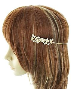 Metal Flower / Hair Accessory / AZFJHC067-GCL Arras Creations http://www.amazon.com/dp/B00WTQOZOK/ref=cm_sw_r_pi_dp_NCluvb0GRNXSF