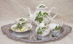 Tea Set for One - The most depressing thing I've ever contemplated buying?