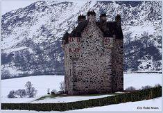 "pagewoman: "" Forter Castle, Kirkton of Glenisla, Perthshire, Scotland by Eric Robb Niven """