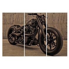 Fatboy Soft Tail Motorcycle Screen Print Wood Painting Wall Art on... ($125) ❤ liked on Polyvore featuring home, home decor, wall art, dark olive, home & living, home décor, wall décor, wall hangings, wooden wall panels and wall hanging