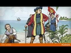 Christopher Columbus's Journey Video for Although the video is focused for younger students the information is good. I liked how it touched on the weather and air patters, since that will be discussed in the science portion of the unit. Ap World History, Modern History, Early Finishers Activities, Early Explorers, Superhero Room, Christopher Columbus, Brain Breaks, Biographies, Holiday Activities