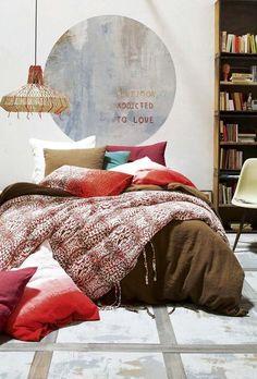 Plus de 1000 id es propos de id e chambre sur pinterest d co interieur e - Chambre style ethnique ...