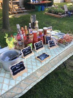 Fancy Drinks, Bar Drinks, Yummy Drinks, Beverage Bars, Beverages, Mimosa Brunch, Brunch Party, Brunch Wedding, Bloody Mary Ingredients