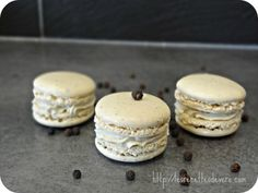 Peppermint Vanilla Macarons | Recipes Vero