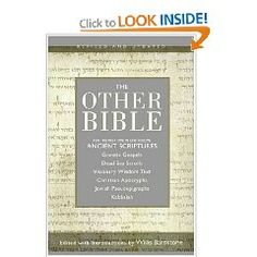 The Other Bible http://www.amazon.com/gp/product/0060815981?ie=UTF8=1_=aw_bottom_links