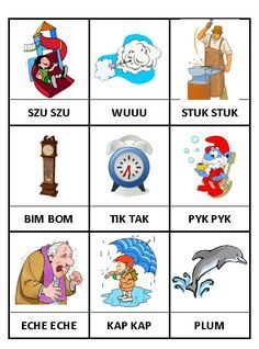 Wyrazy dźwiękonaśladowcze – materiały Creative Activities For Kids, Crafts For Kids, Learn Polish, Polish Language, Aphasia, Speech Room, Alphabet Worksheets, Speech Therapy, Kids And Parenting