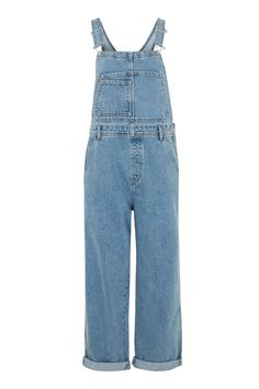 MOTO Boyfriend Dungarees - Rompers & Jumpsuits - Clothing - Topshop USA