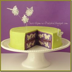 once upon a pedestal, butterfly cake #birthdaycake