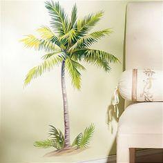 Palm Tree Wall Art wall decal vinyl sticker decals art decor design couple palm