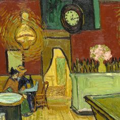 The Night Cafe (detail) by  Vincent van Gogh