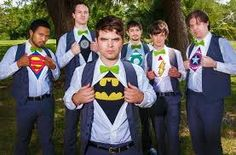 Groomsmen Superhero T Shirts Car Memes Wedding Blog, Our Wedding, Dream Wedding, Super Hero Groomsmen, Comic Book Wedding, My Superhero, Wedding Superhero, Affordable Honeymoon, Lds Bride