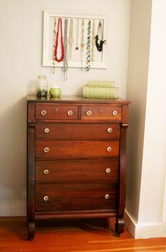 Antique dresser redo