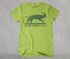You hated Gym class? Image T-rex. Pushups, Volleyball spiking, basketball dunking, the front crawl. Man, T-rex hates all physical excercise. Except running after you and tearing you to a shredded juicy pulp. Volleyball, Basketball, Image T, Gym Classes, Gym Rat, Best Face Products, T Rex, Excercise, Cool T Shirts