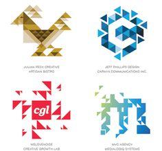 Uso de trixelate - 15 tendências no design de logotipos em 2015;