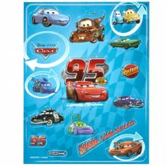 Disney Cars 2 Raised Sticker Sheet