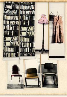 Deborah Bowness - Trompe l'oeil wallpapers