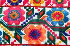 Embroidery mexican cross stitch - Google Search