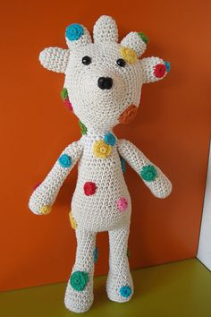 Ravelry: Polka dot funky bear pattern by Teresa Alvarez