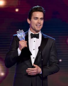 Pin for Later: All the Stars, Smiles, and Wins From the Critics' Choice TV Awards  Matt Bomer accepted his award for best supporting actor in a movie or miniseries.