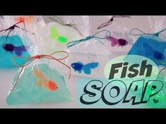 DIY Fish in a Bag Soap - Easy Soap Making How To for Beginners - YouTube