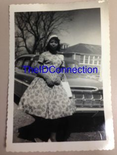 Beautiful Galveston Gal Negro Girl Standing by by TheIDconnection, $15.00
