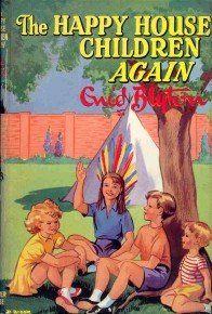 The Happy House Children Again by Enid Blyton Story Books, Children's Books, Good Books, Antique Books, Vintage Books, The Secret Seven, Enid Blyton Books, Native Child, Kids Library