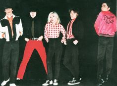 On Christmas day 1978, Clem Burke, Frankie Infante and Chris Stein crashed a boat in Australia. | 14 Things You Might Not Know About Blondie