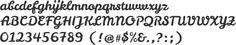 Leckerli One Alphabet Specimen