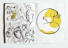 Sketchbook – Page 12072014 Voyage Sketchbook, Moleskine Sketchbook, Sketchbook Pages, Amazing Drawings, My Drawings, Amazing Art, Story Drawing, Ap Studio Art, Inspirational Artwork
