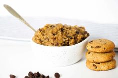 My edible cookie dough recipe is safe to eat before it goes in the oven, and it's delicious if you decide to bake it. It's Paleo, vegan and gluten-free.