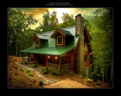 woodsy cabins   Cabin In The Woods By Johannes01 On Deviantart