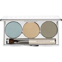 Chantecaille Corsican Eye Palette Trio ❤ liked on Polyvore featuring beauty products, makeup, eye makeup, eyeshadow, chantecaille, chantecaille eyeshadow and palette eyeshadow