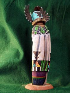 Hopi Kachina Doll Crow Crow Mother Contemporary Beauty | eBay