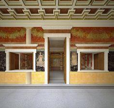 Reconstruction of the Villa Boscoreale aka the Villa Publius Fannius Synistor.