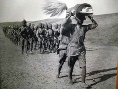 Sikh Regiment Of The British Indian Army in Mesopotamia during World War I, being led by the Sri Guru Granth Sahib. World War One, First World, Jaisalmer, Udaipur, World Religions, British Indian, British Army, Indian Army, Mahatma Gandhi