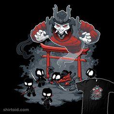 """""""Unstealthiest Ninja: Demon"""" by DoOomcat. [Sold at SHIRT.WOOT]"""
