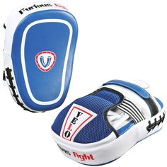 VELO Focus Pads Curved Hook & Jab Mitts Boxing Punch Gloves Bag Kick Thai  MMA B