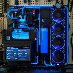 #thermaltake #p5 #asus #Rog #Corsair #dominator #Intel #i7 #6700k #EVGA #gtx #gtx1080 #4k #gaming #samsung #Seagate #computer #computers #exoticpc #overclock #watercooled #watercooling #blue #cool