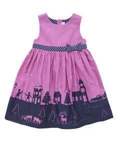 Loving this Purple Wonderland Party Dress - Infant, Toddler & Girls on #zulily! #zulilyfinds