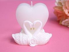 <3 The two majestic swans joined together with a heart symbolizes love ever-lasting. <3