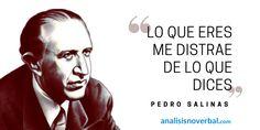 Pedro Salinas www.analisisnoverbal.com