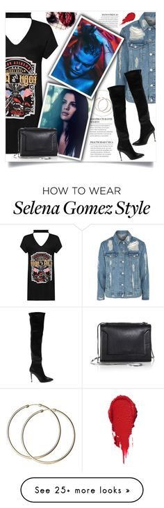 """""""C H O K E R  D R E S S"""" by itzbrianne on Polyvore featuring WearAll, Topshop, Tom Ford and 3.1 Phillip Lim"""