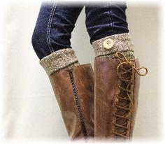 Aspen Boot Cuffs - Brown