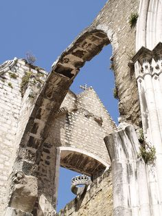 Lisboa - Ruinas do Convento do Carmo | Flickr - Photo Sharing!